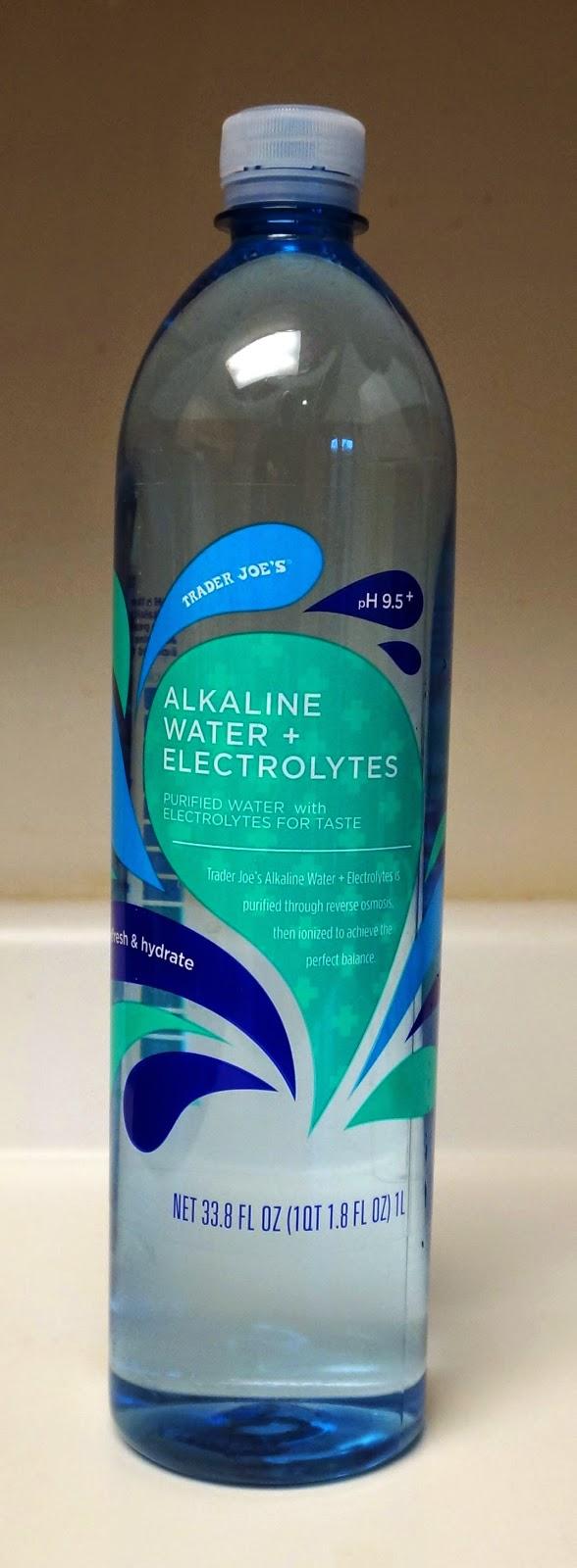 Exploring Trader Joe's: Trader Joe's Alkaline Water + Electrolytes